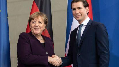 Oostenrijkse bondskanselier Kurz begrijpt waarom Merkel samenwerking met extreemrechts afwijst