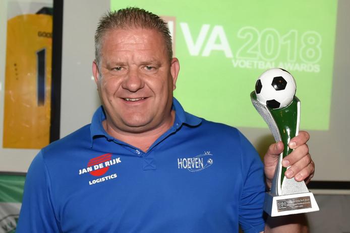 Eric Koenraads werd afgelopen seizoen door BN DeStem verkozen tot trainer van het jaar.