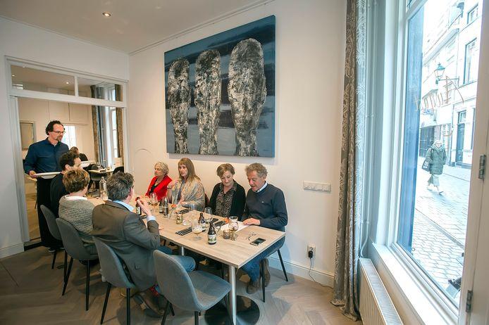 Restaurant August aan de Sint Janstraat in Breda.