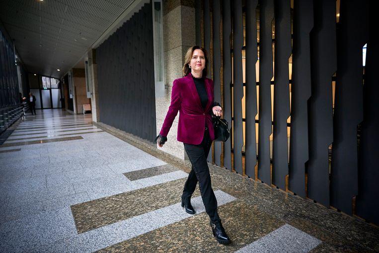 Cora van Nieuwenhuizen (54) is sinds een maand minister van infrastructuur en waterstaat. Beeld Phil Nijhuis