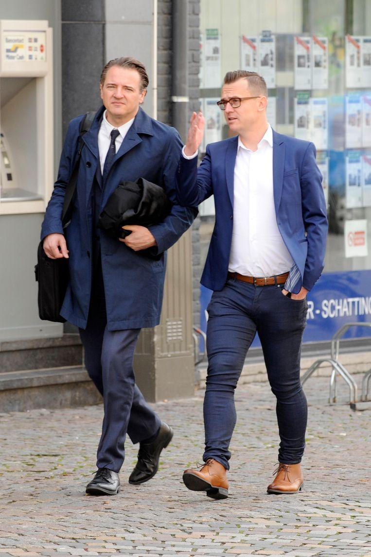 Rudi Desmet en Nick Nuyens.