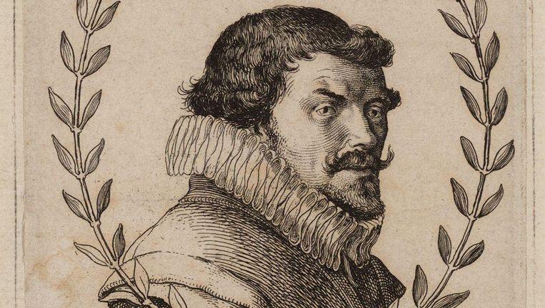 Snachts rusten meest de dieren, oock menschen goet, en quaat, en mijn lief goedertieren, is in een stille staat - Bredero, 1622 Beeld Archief