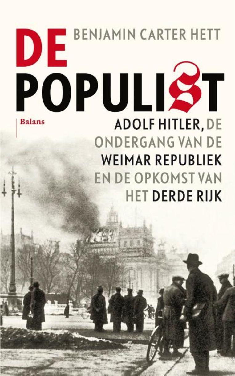 'De populist' van Benjamin Carter Hett. Beeld