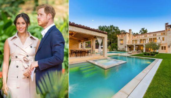 In deze villa willen Harry en Meghan de zomer doorbrengen.
