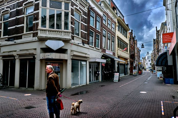 Leegstand in de Voorstraat.