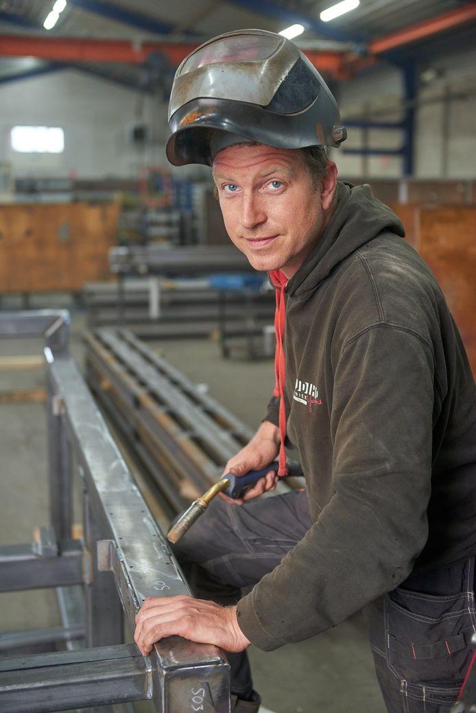 Roy van der Heijden werkt weer als zzp'er in de bouw.