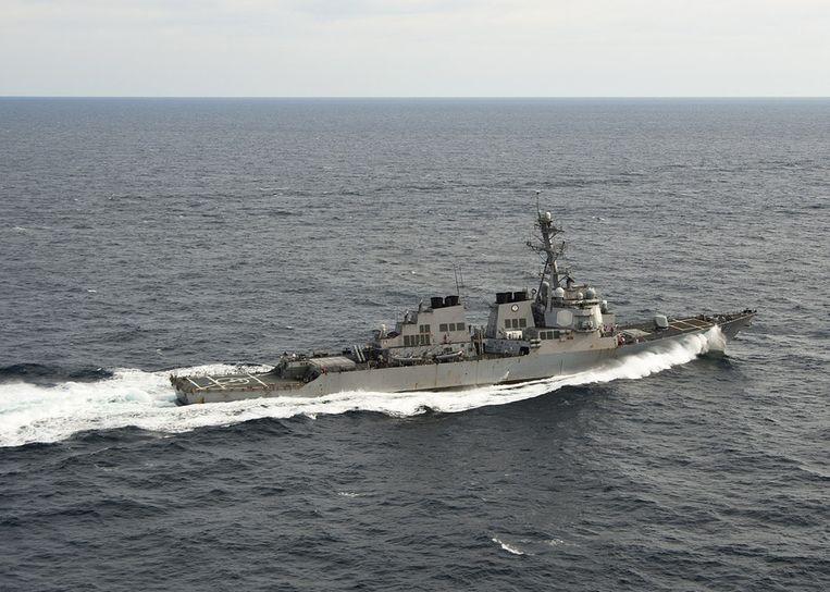 Archieffoto USS Porter Beeld ap