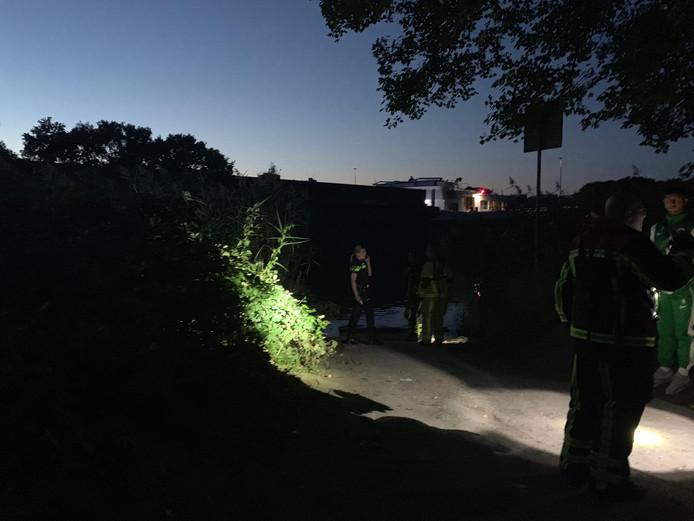 Brandweer en politie is ter plaatse
