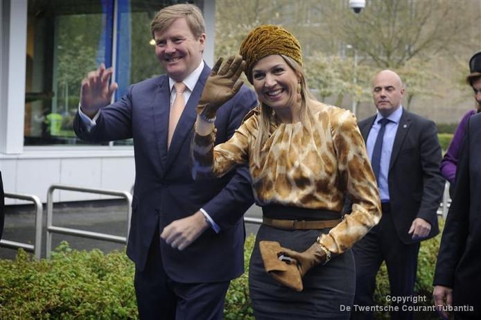 Koning Willem-Alexander en koningin Máxima komen donderdag naar Twente.