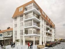 Twee appartementengebouwen in Breskens bijna tegelijkertijd klaar