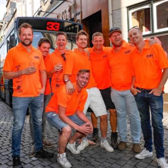 De vriendengroep uit Breda.