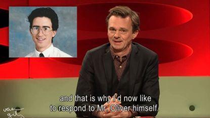 """Lieven Van Gils dient John Oliver van antwoord: """"Wij kunnen alleen maar jaloers zijn op Amerika, voor jullie verfijnde keuken bijvoorbeeld"""""""