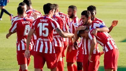 Atlético weer derde in La Liga na owngoal Levante, Carrasco een uur op het veld