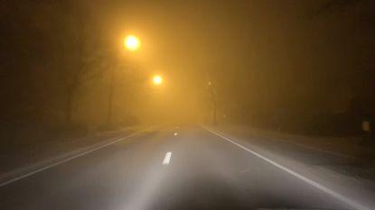 Code geel: opletten voor mist deze ochtend