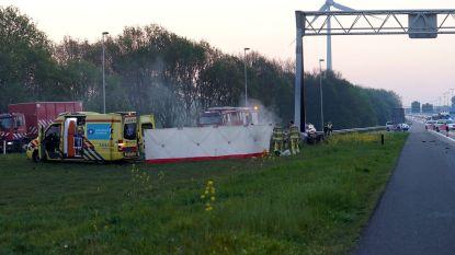 Vier doden bij verkeersongeval op A1 in Nederland