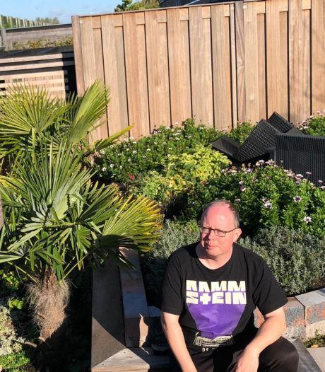 Bij duurzame woning hoort wat Dave en Wilma betreft ook duurzame tuin: 'We kunnen 2800 liter regenwater kwijt'