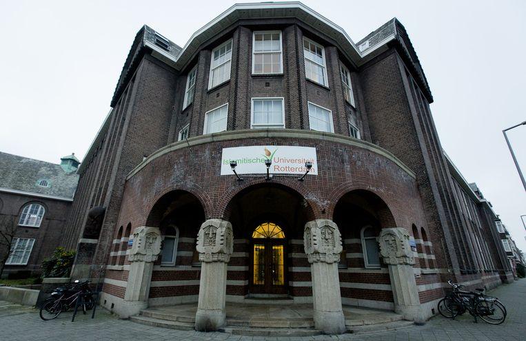Het gebouw van de hogeschool IUASR in Rotterdam. Beeld ANP