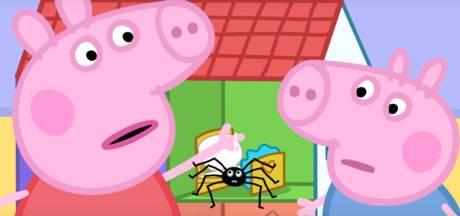 Australiërs boos: Peppa Big leert kinderen dat spinnen ongevaarlijk zijn