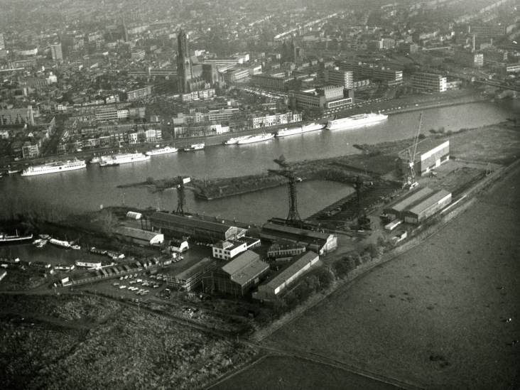 Opkomst en ondergang van de scheepswerf die te ver van zee lag