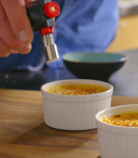 Zo maak je een klassieke crème brûlée