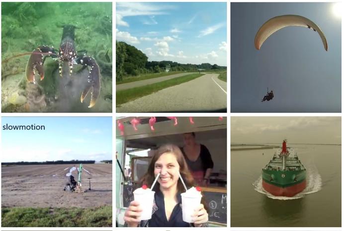 Screenshots video's