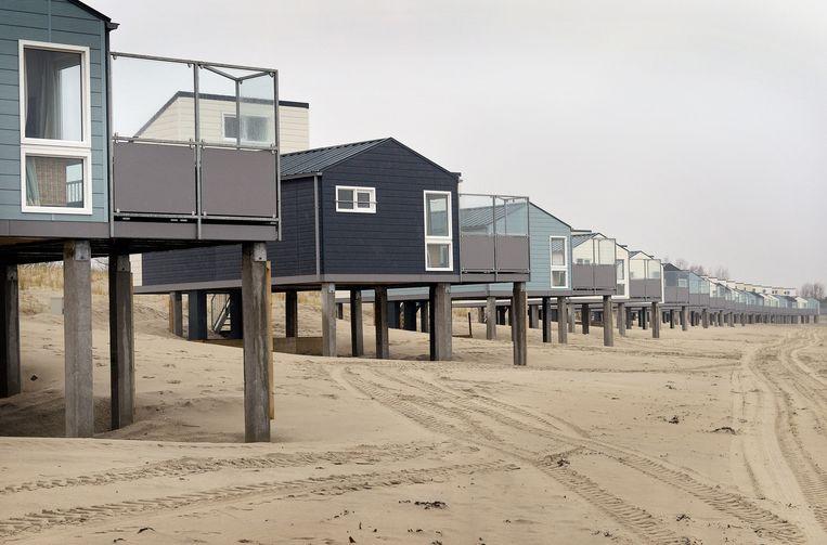 Het Roompot Beach Resort in Kamperland, Noord-Beveland. Beeld null