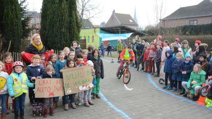 Verwarming af en hele dag fiets- step- of rolschaatsmarathon op speelplaats: zo draagt Wollewei bij tot beter klimaat