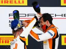 Prachtig succes voor Larry ten Voorde, Boekeloër wint op Silverstone