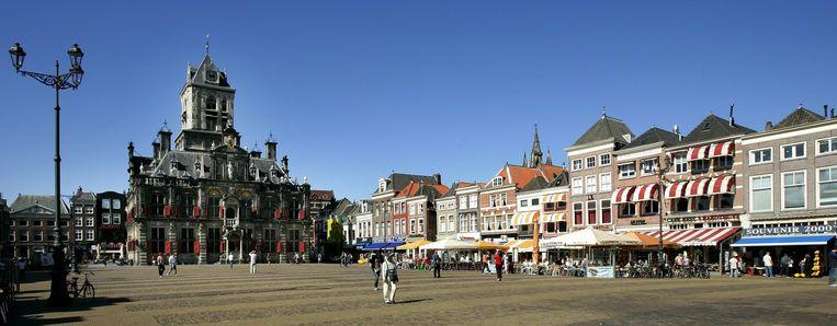 De Markt in Delft. Beeld ANP