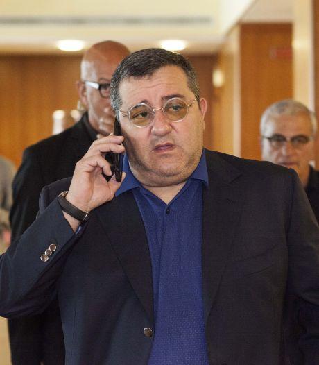 FIFA heft schorsing zaakwaarnemer Raiola op