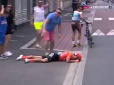Alessandro De Marchi contraint à l'abandon après une terrible chute