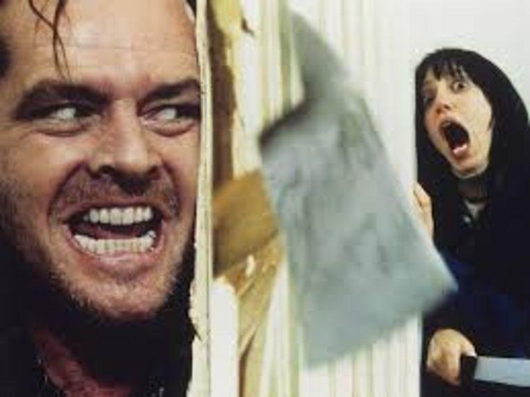 Een van de bekendste verfilmingen van een Stephen King-boek: 'The Shining'  (1980) met Jack Nicholson en Shelley Duval.