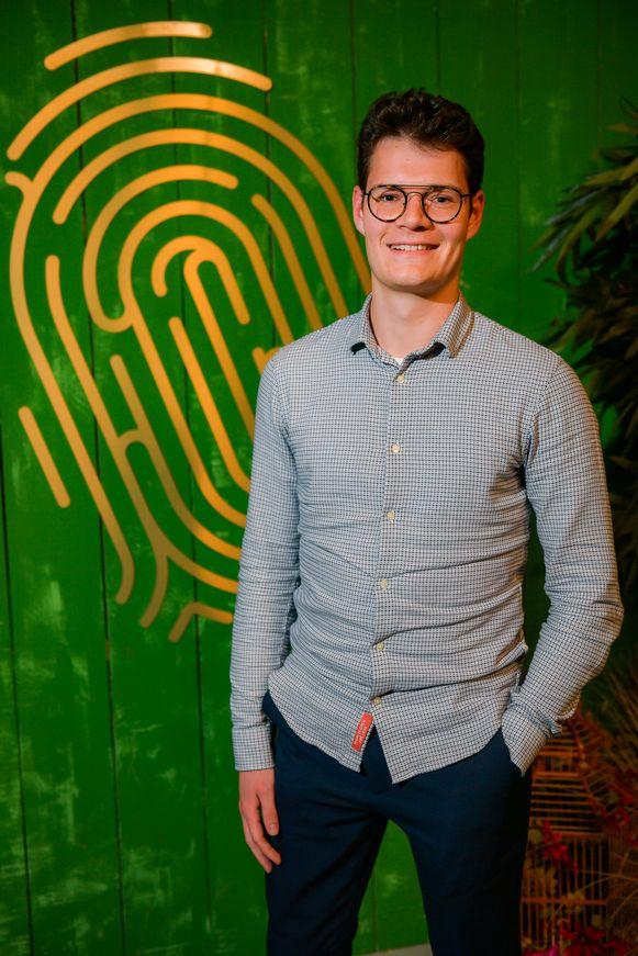 Martijn, afvaller in aflevering drie van de Mol 2019.