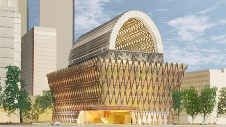 Het prestigieuze project verrijkt de skyline van Den Haag, stelt de gemeente Beeld