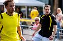 Björn Rutten, trainer van Sallandia, is bij zijn nieuwe club begonnen aan de basis.