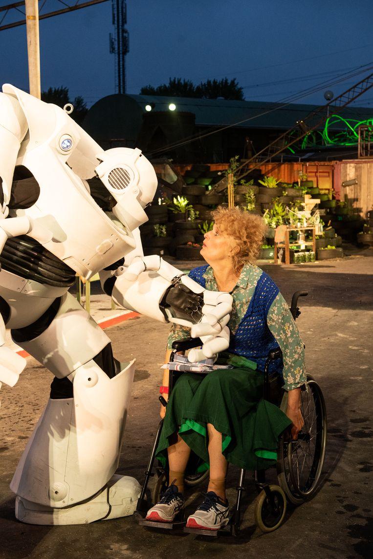 Robot van Vis à Vis Beeld Anna van Kooij
