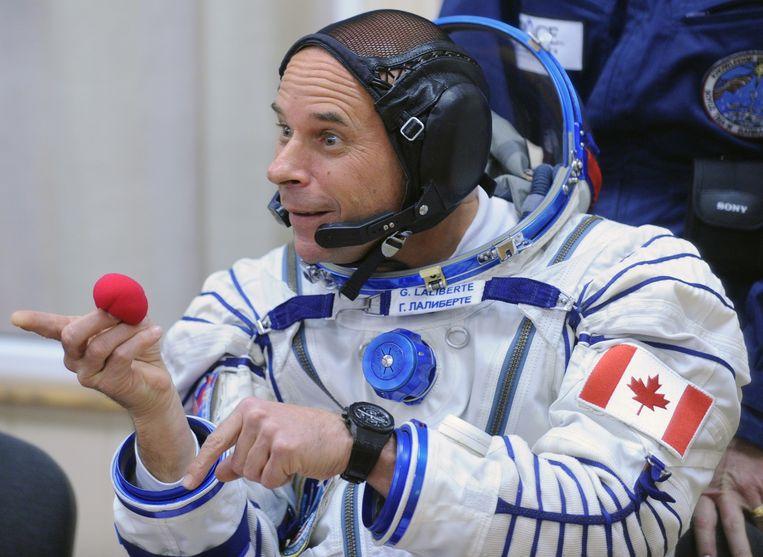 Miljardair Guy Laliberté ging als ruimtetoerist in 2009 aan boord van een Russische Sojoez-raket en verbleef enkele dagen in het ISS-ruimtestation.