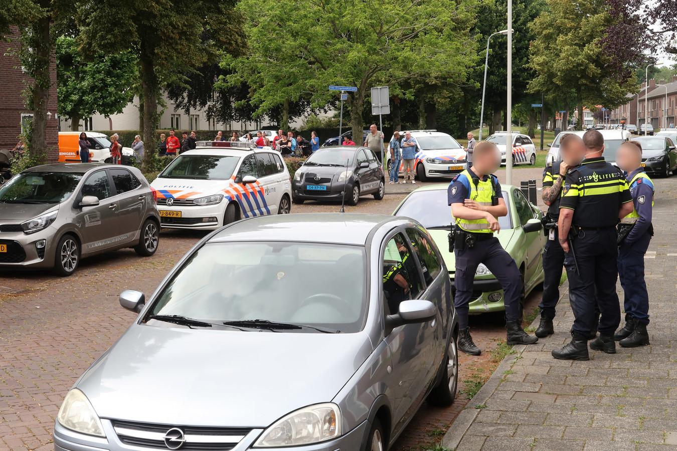 Onrust bij inbeslagname van twee caravans in Breda