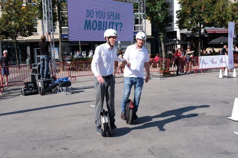 Tal van mobiliteitsoplossingen staan in de kijker.