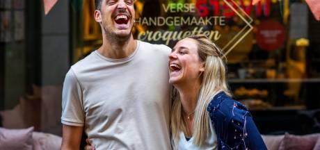 De kroketletter van Brian en Désirée ging viral. Wordt de kerststolkroket hun nieuwe kaskraker?