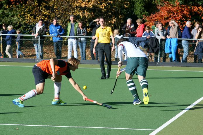 Archieffoto: AMHC hield in een punt over tegen Spanderbosch.