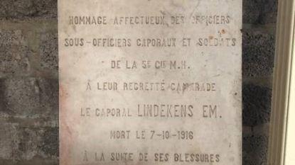 Koppel schenkt herdenkingssteen aan In Flanders Fields Museum