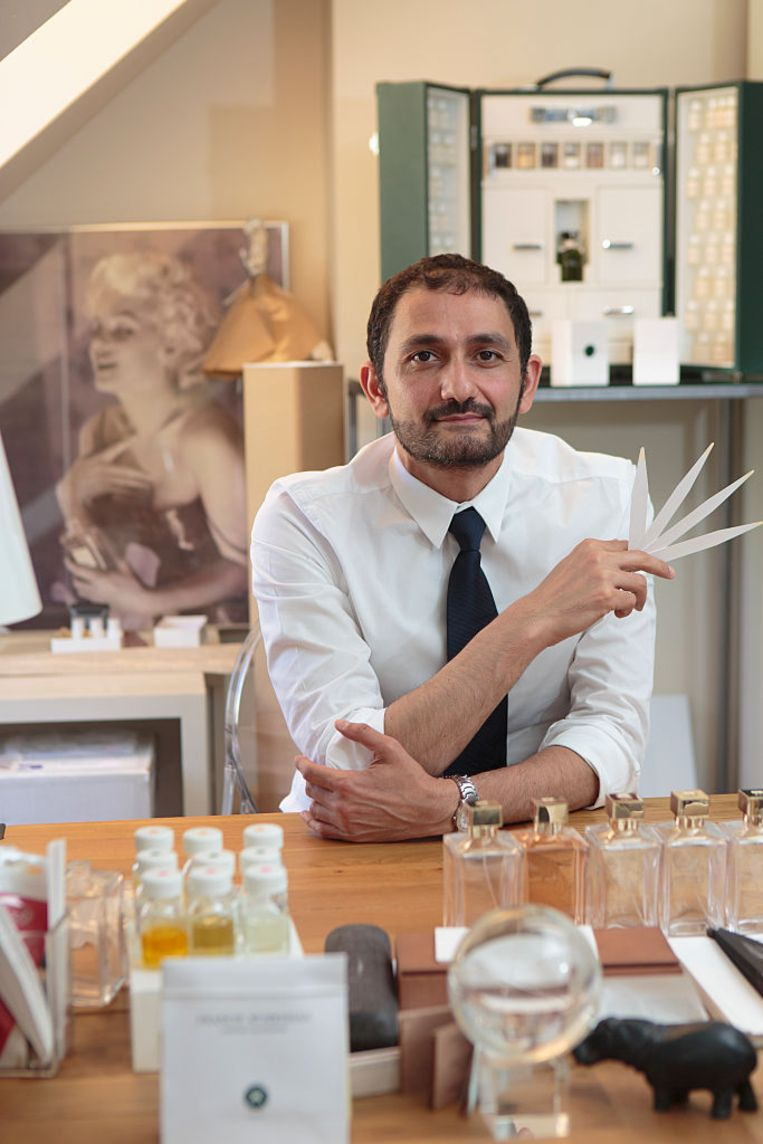 Topparfumeur Francis Kurkdjian. Beeld null
