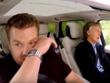 James Corden in tranen tijdens autoritje met Paul McCartney