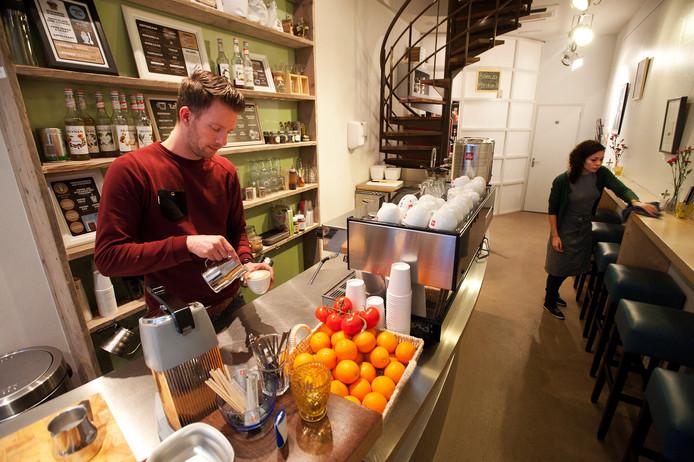 Koffie bij Teun in Breda.