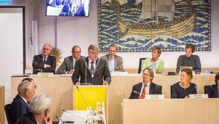 Burgemeester Roest kondigde aan in september met een voorstel te komen voor versterking van de ambtelijke organisatie. Beeld Dingena Mol