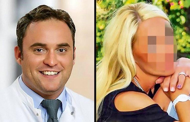 Links: Andreas David Niederbichler. Rechts: slachtoffer Yvonne M.