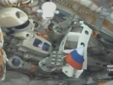 Robot Fedor aan boord van ruimtestation ISS: koppeling capsule nu wel gelukt