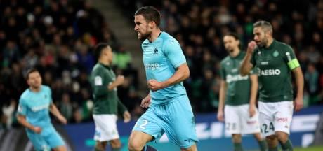 Strootman scoort, maar verliest met Marseille