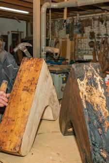Zwammen teisteren 'oudste nog varende botter van Nederland': 'Kijk, de binnenkant is helemaal weggevreten'